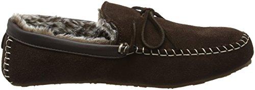 Lazy Dogz - Rocky, Pantofole Uomo Marrone (Marrone (Brown))