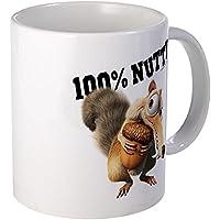 CafePress - Ice Age Scrat 100% Nutty - Coffee Mug,