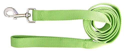 Artikelbild: Pet Leash Single Thick Nylon Webbing Deluxe Flexible Durable 1' 4Ft Lime Green