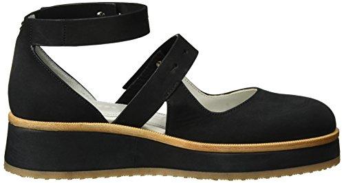 Strenesse Shoe Vivian, Ballerines femme Schwarz (Black)
