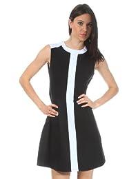 Nife Women Dress black Czarny S27R38C-czarny