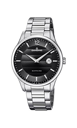 Candino Mens Analogue Classic Quartz Watch with Stainless Steel Strap C4637/4