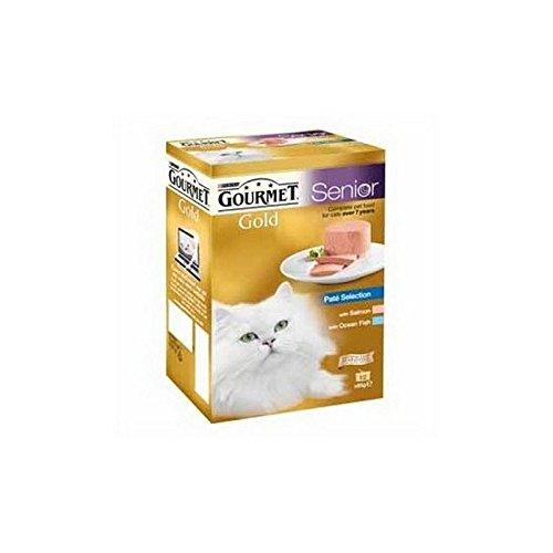 Gourmet Gold Senior pastete Selección húmedo gato Forro 12x 85g