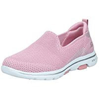 Skechers Go Walk 5-Prized Womens Shoes, Light Pink, 37 EU