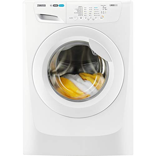 Zanussi ZWF01280W  Rated Freestanding Washing Machine - White