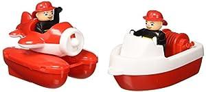 BIG 800055133 Barco de juguete para el baño Rojo, Blanco juego, juguete y pegatina de baño - Juegos, juguetes y pegatinas de baño (Barco de juguete para el baño, Niños, 3 año(s), 7 año(s), Rojo, Blanco, 155 mm)
