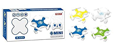 Foda Mini Quad-copter 4 Channel Drone 2.4 GHz Radio Controlled 6 Axis Gyroscope