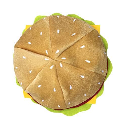 Cheeseburger Kostüm - Fenical Hamburger Hut Neuheit Kostüm Kopfbedeckungen