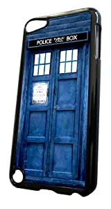 ipod Touch 5 Doctor Who Tardis Police Call Box Designer Coque arriere Coque Case
