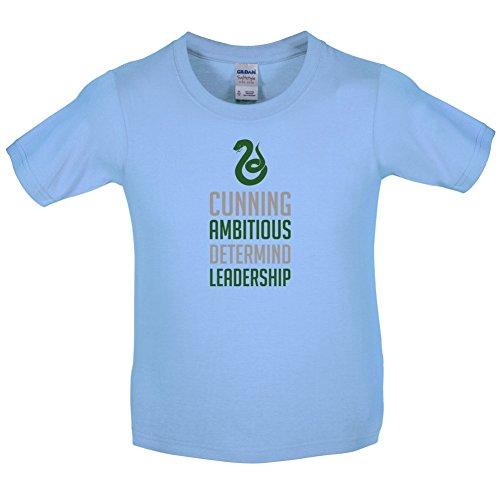 HP House - Schlange - Kinder T-Shirt - Hellblau - XL (12-14 Jahre)