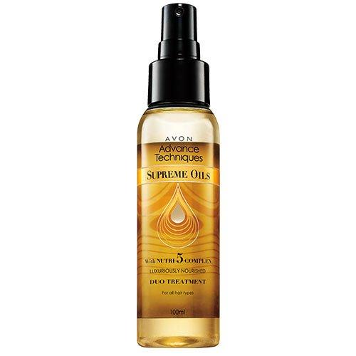 Avon Spray Traitant Duo Supreme Oils 100ml