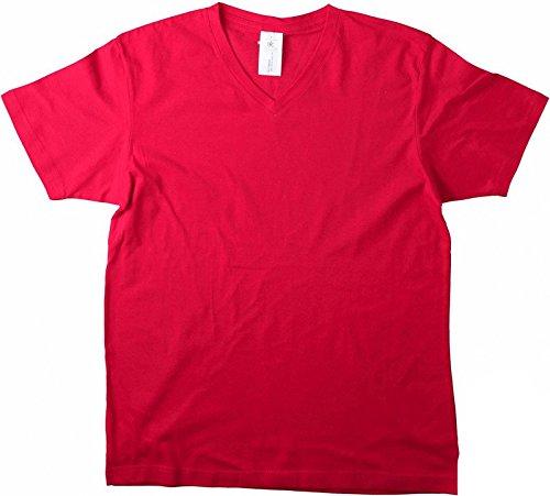 Herren T-Shirt Mick Classic FairWear Red