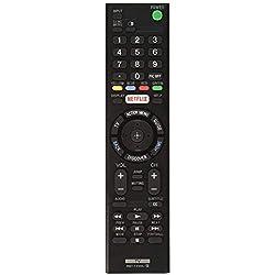 RMT-TX100U - Mando a Distancia de Repuesto para Sony Bravia TV XBR-55X855C KDL-50W800C KDL-50W800380 KDL-50W800BUN1 LED HDTV Smart HD TV