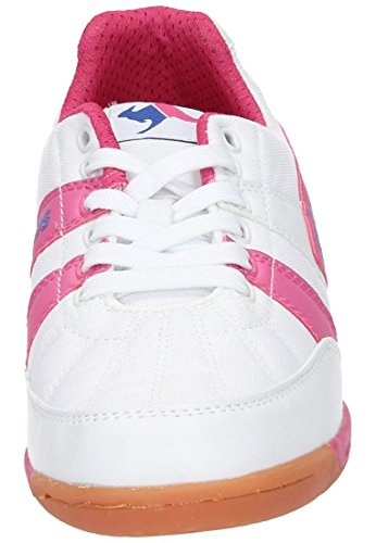 KANGAROOS Sneakers, Hallenschuhe KangaField 3015, Sportschuhe weiss, 150456-3 weiss
