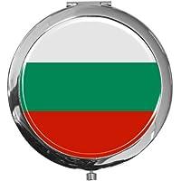"metALUm - Extragroße Pillendose in runder Form""Flagge Bulgarien"" preisvergleich bei billige-tabletten.eu"