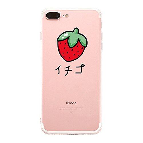 Vanki® Coque iPhone 7 Plus, Housse TPU Souple Etui de Protection Silicone Case Soft Gel Cover Anti Rayure Anti Choc pour iPhone 7 Plus 5.5Inch-vent Comics 8