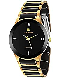 IIk Collection Watches Analogue Black Dial Men's and Boys Watch - Iik013M