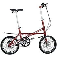 hife Sonaris Bicicleta Plegable para, Carbono, Aprox. 7 Kilos, Muy Ligera,