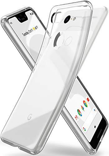 Spigen Coque Google Pixel 3 XL [Liquid Crystal] [Transparente Souple Flexible] Coque Résistante, Anti Rayure, Coque Etui Housse pour Google Pixel 3XL (F20CS25022)