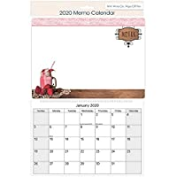 The Home Fusion Company 2020 Monthly Memo Board Wall Calendar Family Organiser White Board With Pen