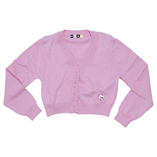 MSGM Coprispalle rosa in filo di cotone