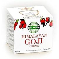 De 310de myglamy Luxus 50ml Himalaya Bayas de Goji superalimentos & serpentinas Gift cara Crema bio Anti Age 100% Natural ácido hialurónico piel renovación