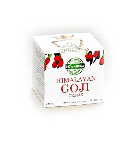 6 x Deluxe Himalaya Baies de Goji Crème Crème pour le visage 50 ml + 6 x Gratis Masque Black Head neuf sans conservateurs Parfum, alcool et est