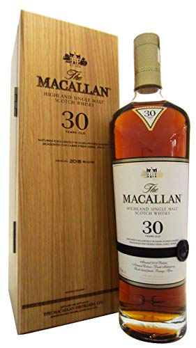 Macallan - Sherry Oak 2018 Release - 30 year old Whisky