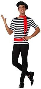 Atosa - 15307 - Costume - Déguisement De Français - Adulte - Taille 2
