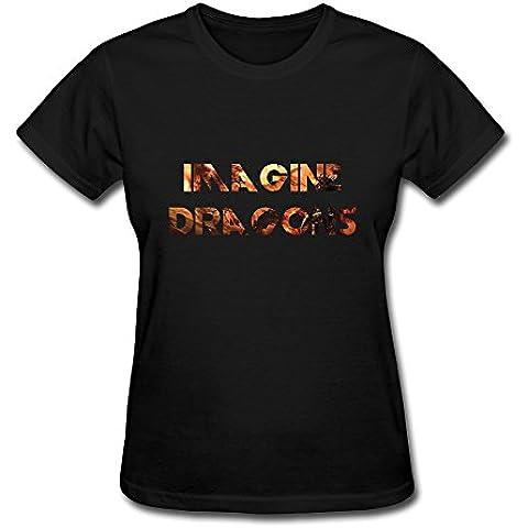 demango Imagine Dragons maglietta da donna (Gonzalez Jersey)
