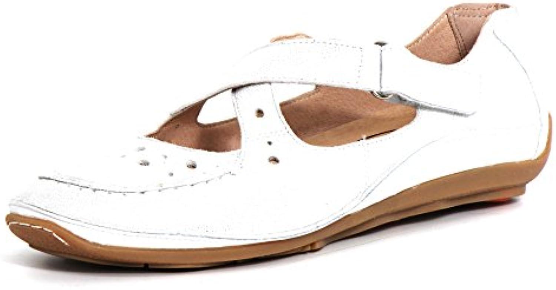 Softwaves Mujeres Zapatos llanos plata, (grau) 4.69.04 GREY
