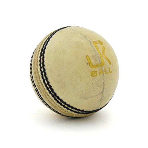Jk-Test-White-Cricket-Leather-Ball-Pack-Of-1Pc