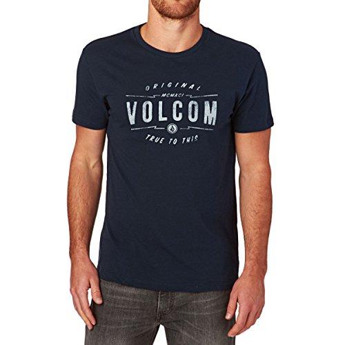 Volcom Herren T-Shirt Indigo