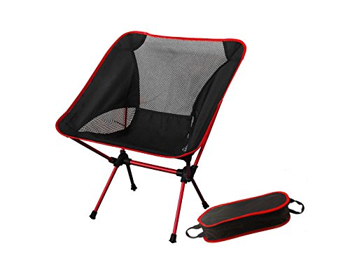 Camping, Chair Ultra Light Garden Chair Folding Fishing Chair - NEWEST VERSION Heavy Duty 150kg Capacity,Compact,Portable Outdoor Chair with Carry Bag for Outdoor Activities,Camping,BBQ, Beach,Backpacking etc.