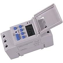 thc15AC 220V electrónico programable Temporizador Digital Interruptor de tiempo DIN Rail