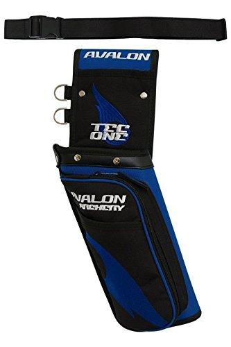 Neuer Avalon Bogenschießen Tec One RH 3D Feld Köcher mit Gürtel (blau) -
