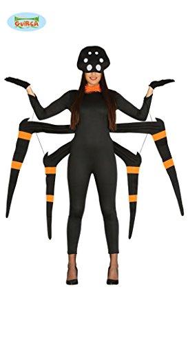 Tarantel Spinnen Kostüm Tierkostüm Spinne für Herren Halloween Spinnenkostüm Ungeziefer Tier Gr. M/L, Größe:L (Lustig Paar Halloween Kostüme)