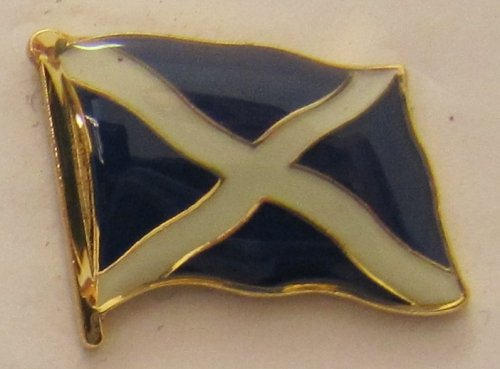 Pin Anstecker Flagge Fahne Schottland St. Andrews Kreuz Flaggenpin Badge Button Flaggen Clip Anstecknadel