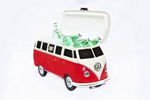 VW-Bus-Coolbox-rot-Hochwertige-Retro-Khlbox-Volkswagen-Bulli-Geschenkidee-zu-Weihnachten-VW-Van-Cooler-fr-Grillparties-Geschenkidee-Bully-Geschenk-fr-Autofans-Idee