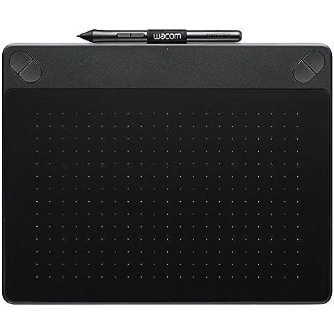 Wacom Intuos Art - Tableta gráfica (2540 lpi, 1024 niveles, incluye bolígrafo), tamaño mediano, color
