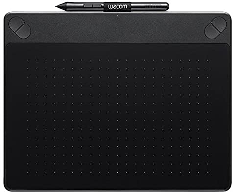 Wacom Intuos CTH-690AK-S Art Pen and Touch Graphics Tablet - Medium, Black