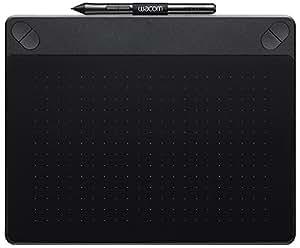 Wacom Intuos Art Medium Black Grafik-Tablett für digitales Malen / Stift-Tablett mit druckempfindlichem Stift und Multitouch-Oberfläche für natürliches Schreibgefühl / Kompatibel mit Mac & Windows