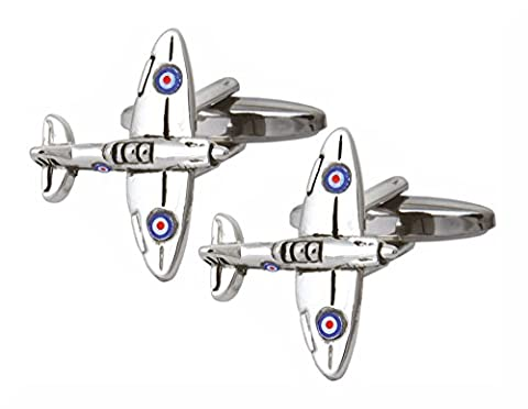 3 Pairs of Premium Quality Memorial Flight Cufflinks from the