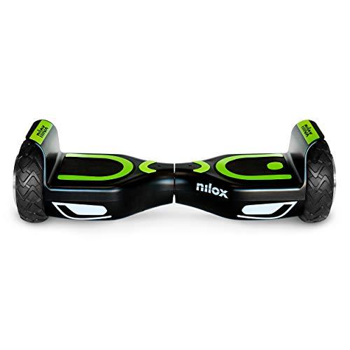 Nilox Doc 2 Hoverboard, Unisex Adulto, Nero, Taglia U