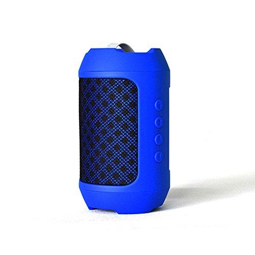Altoparlante Bluetooth Mini Altoparlante Bluetooth Esterno Altoparlante Bluetooth Ricevi scheda AudioScudo tessuto blu