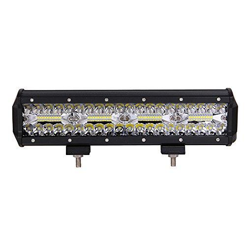 Preisvergleich Produktbild LED-Lichtleiste, Farbe Baum 12 Zoll 240W Flut Spot Combo LED Lichtleiste Nebelscheinwerfer Wasserdicht für Gelände, UTV, LKW, ATV, SUV