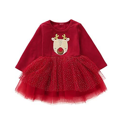Borlai - Vestido tutú Navidad niñas 1