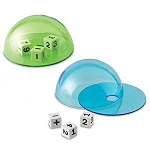 Learning Resources LER7656 Dice Domes Toy