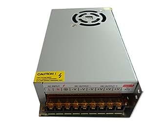 Transformateur LED 220V vers 12V DC, 20A, 240W