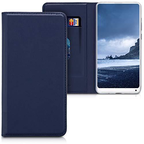 kwmobile Xiaomi Mi Mix 2S Hülle - Kunstleder Handy Schutzhülle - Flip Cover Case für Xiaomi Mi Mix 2S - Fundas para teléfonos móviles (Xiaomi, Mi Mix 2S)